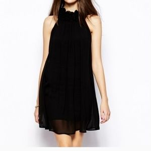 French Connection black cocktail dress.